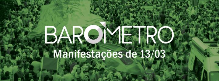 BARÔMETRO INNOVARE: A OPINIÃO PÚBLICA SOBRE AS MANIFESTAÇÕES DE 13/03